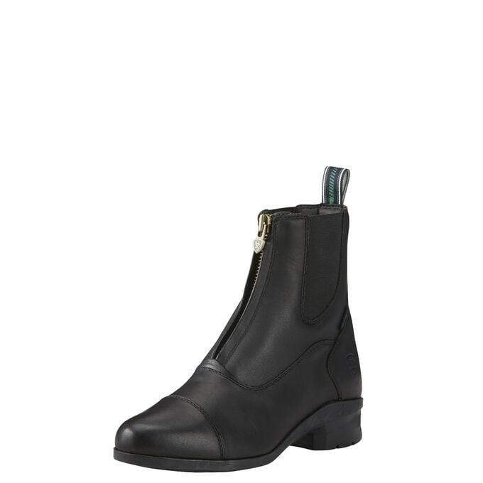 Ariat Womens Heritage IV Zip Paddock Boots Black 10020128 - Gympie Saddleworld & Country Clothing