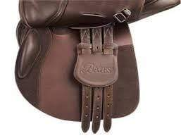 Bates English Saddles Havana Bates Buckle Guard Caprilli Close Contact