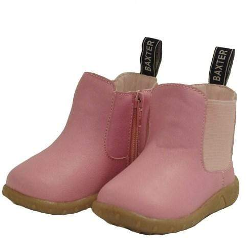 Baxter Baby Jill Boots Pink - Gympie Saddleworld & Country Clothing
