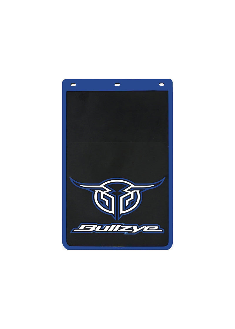 Bullzye Gifts & Homewares Blue Bullzye Logo Mud Flaps Size B B0S1913MUD (SOLD SEPARATELY)