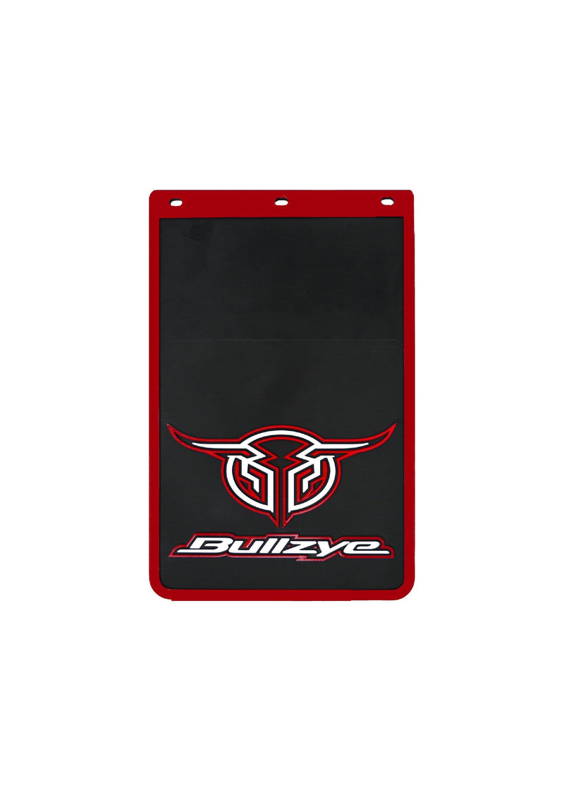 Bullzye Gifts & Homewares Red Bullzye Logo Mud Flaps Size B B0S1913MUD (SOLD SEPARATELY)