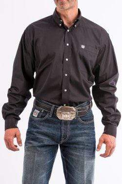 Cinch Mens Shirts Large / Black Shirt Cinch MT10320083 Mens Black Size Large