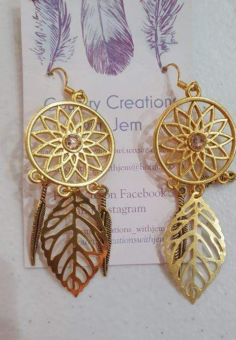 CCWJ Dream Catcher Earrings - Gympie Saddleworld & Country Clothing