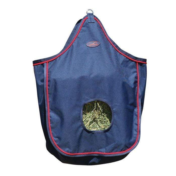 Eurohunter Stable Hay Feed Bag Eurohunter Navy Red Trim