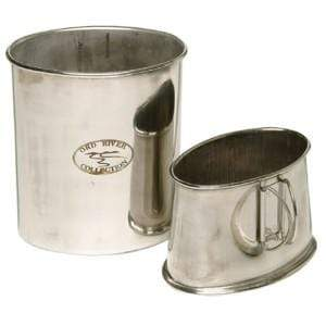 Flinders Stock Camp Items Ord River Quart Pot Stainless Steel