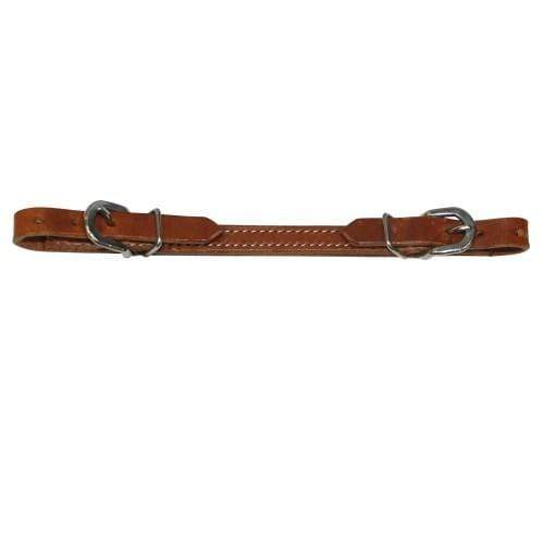 Fort Worth Flat Curb Strap 1/2 inch Black FOR240027 - Gympie Saddleworld & Country Clothing