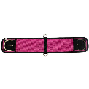 Fort Worth Girths 28inch / Pink Fort Worth Air-Cell Cinch BLUE