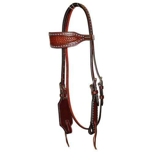 Fort Worth western bridles & reins ONE SIZE Bridle Fort Worth FOR20-0095 Turquoise Basket Headstall