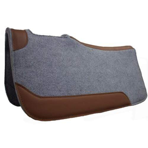 Fort Worth  Contoured Felt Saddlepad CLT7155 32inx30in - Gympie Saddleworld & Country Clothing