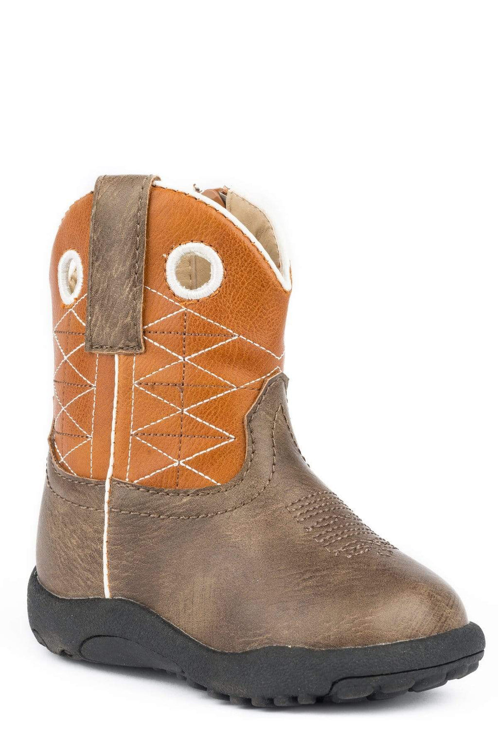 Gympie Saddleworld & Country Clothing Baby Cowkids 1 (0-3 Months) / Brown Roper Infants Boone- Brown Boots