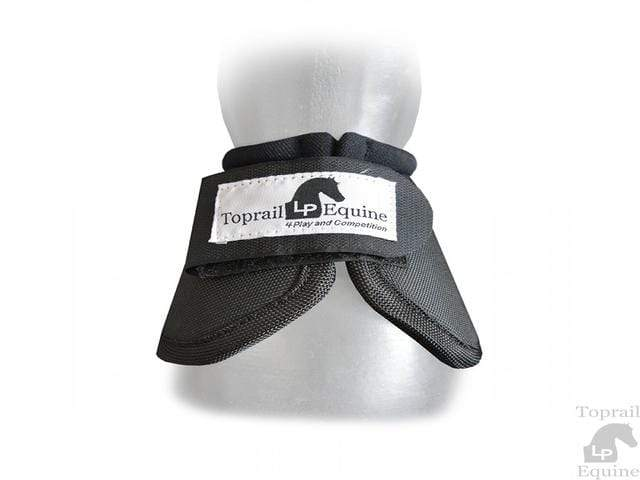 Gympie Saddleworld & Country Clothing Bell Boots & Overreach Boots Full / Black Toprail Equine No Turn Bell Boots