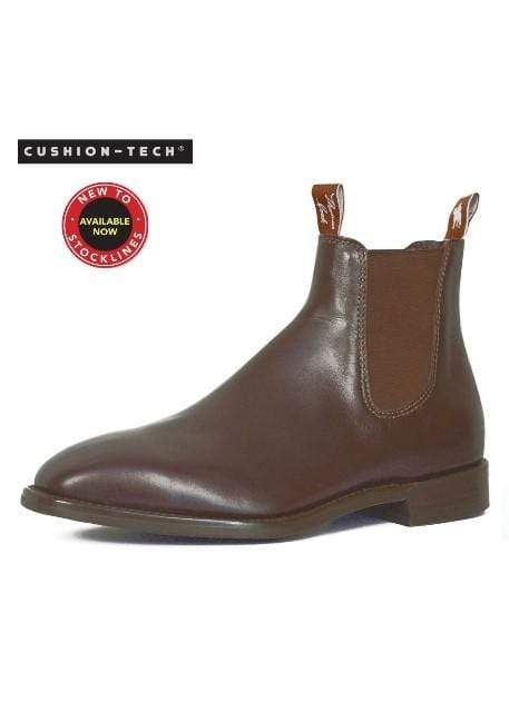 Gympie Saddleworld & Country Clothing BOOTS Thomas Cook Mens Trentham Boots Chestnut