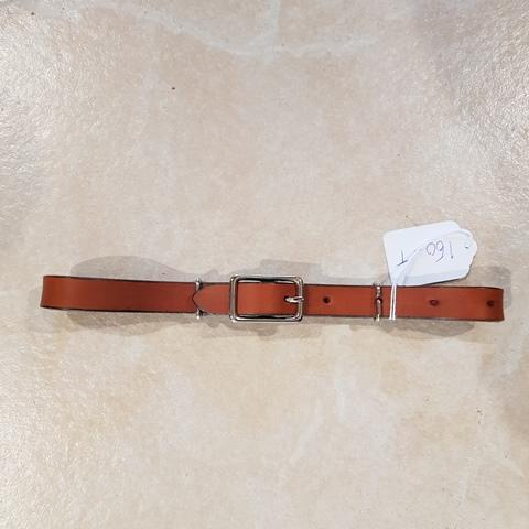 WT Leather Chin Strap - Gympie Saddleworld & Country Clothing