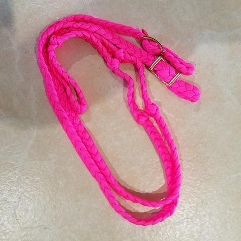 Gympie Saddleworld & Country Clothing Bridles & Reins Pink Barrel Race Reins