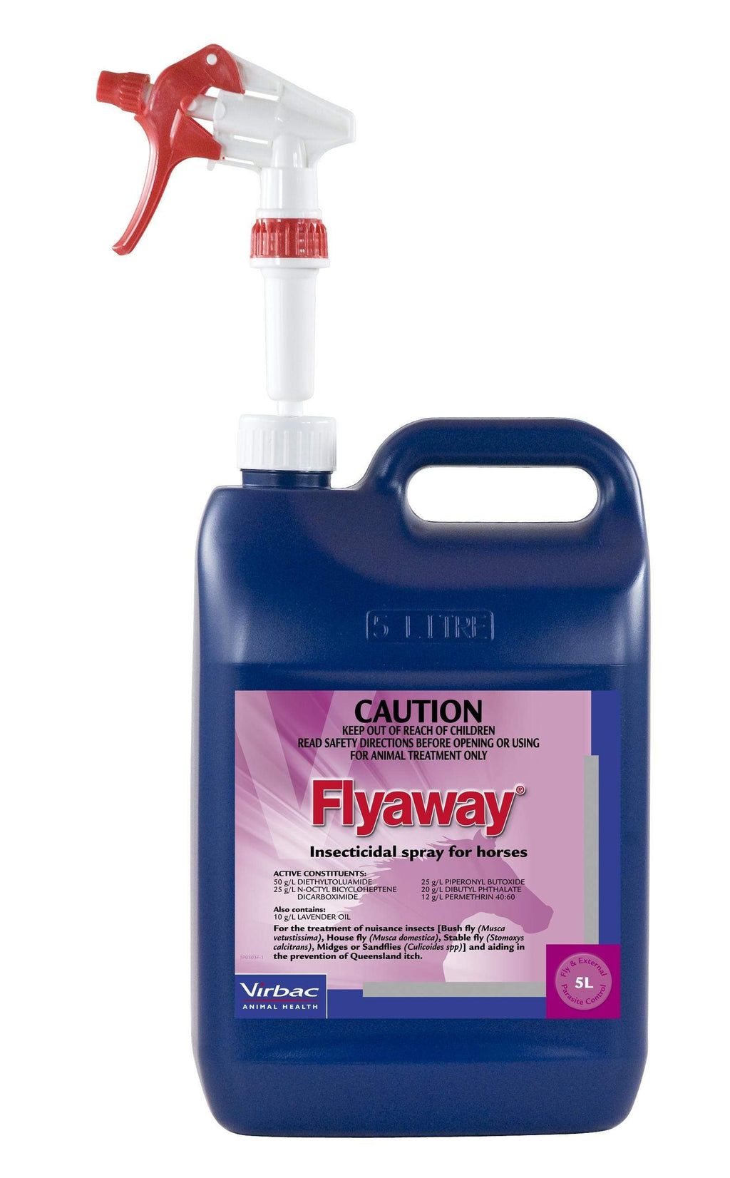 Gympie Saddleworld & Country Clothing Fly/ Insect Control 5L Virbac Flyaway