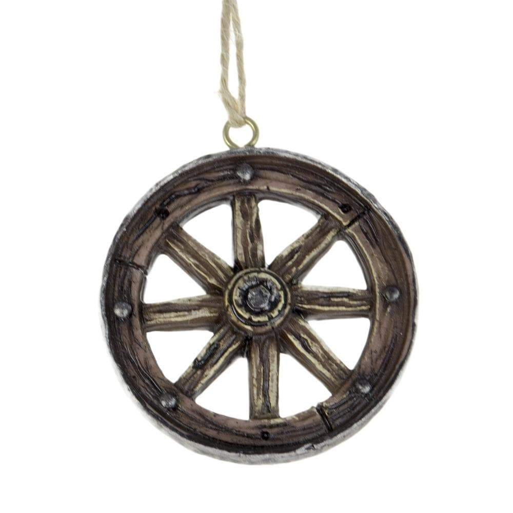 Brigalow Wagoon Wheel Ornament (N-02) - Gympie Saddleworld & Country Clothing