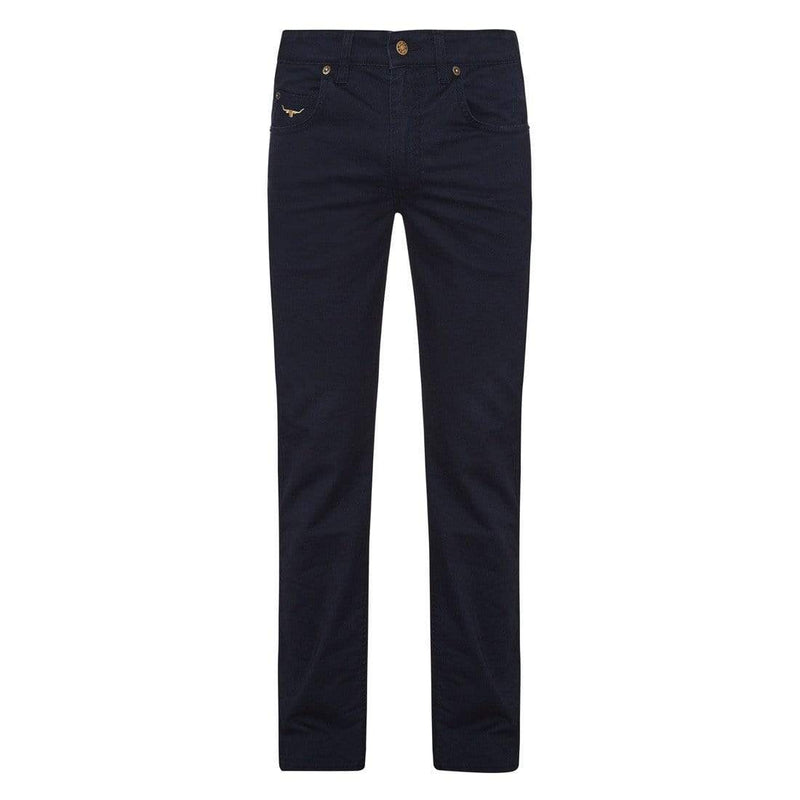 Rm Williams TJ880 Linseman Mens Jeans Navy - Gympie Saddleworld & Country Clothing
