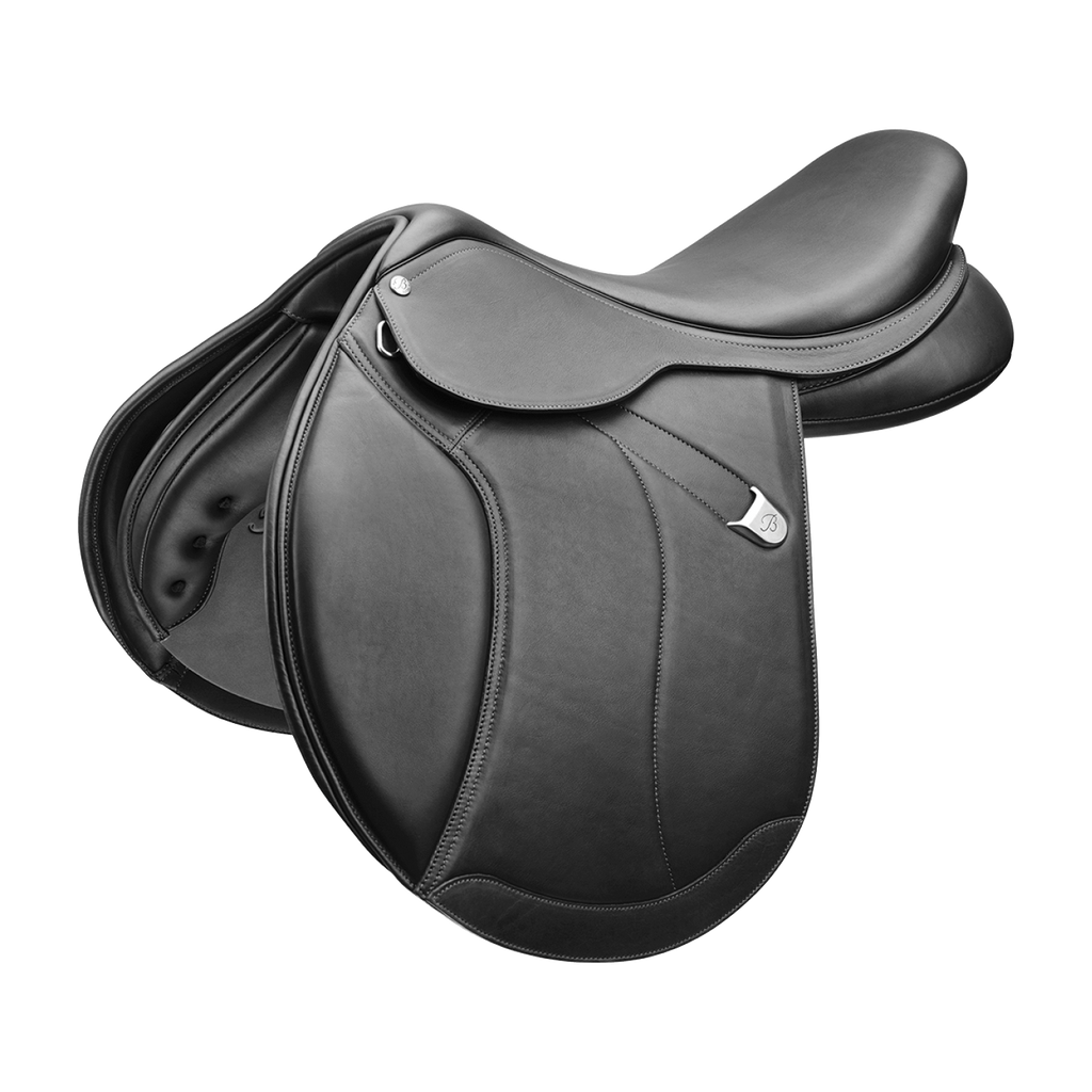 Gympie Saddleworld & Country Clothing Jump Saddles 18in / Black Bates Caprilli Close Contact + Saddle with Cair