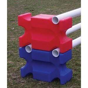 Gympie Saddleworld & Country Clothing Jumping Equipment ONE SIZE / Blue Plastic Jump Blocks (Pair)