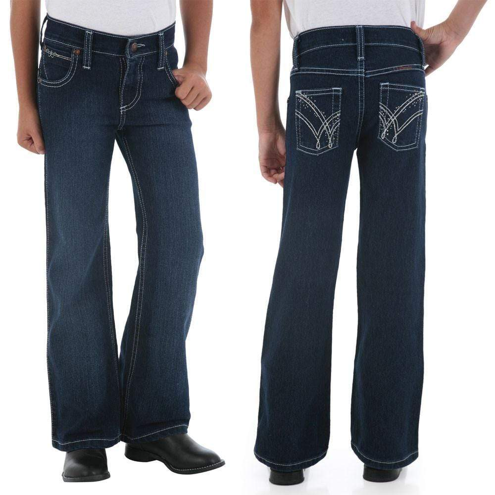 Wrangler Girls Q Baby Amber Dance Jeans - Gympie Saddleworld & Country Clothing