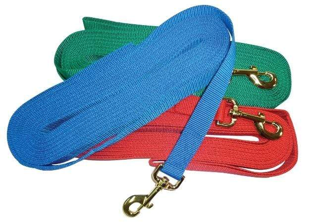N.E.W Nylon Lunge Lead - Gympie Saddleworld & Country Clothing
