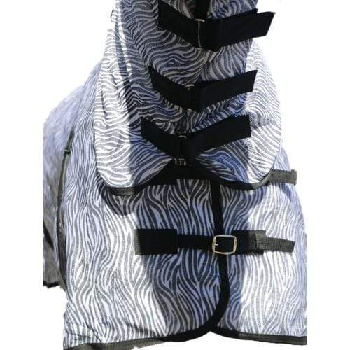 Gympie Saddleworld & Country Clothing Mesh Horse Rugs Happy Horse Zebra Combo RUG7523