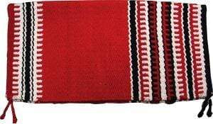 Western Saddle Blanket Red, Black and White - Gympie Saddleworld & Country Clothing