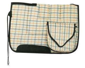 Pioneer Wool Saddlecloth with Pockets - Gympie Saddleworld & Country Clothing