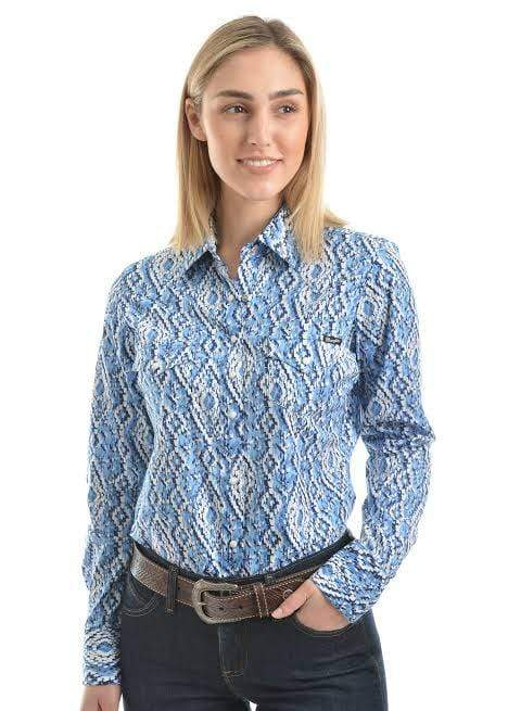 Womens Wrangler Frances Shirt - Gympie Saddleworld & Country Clothing