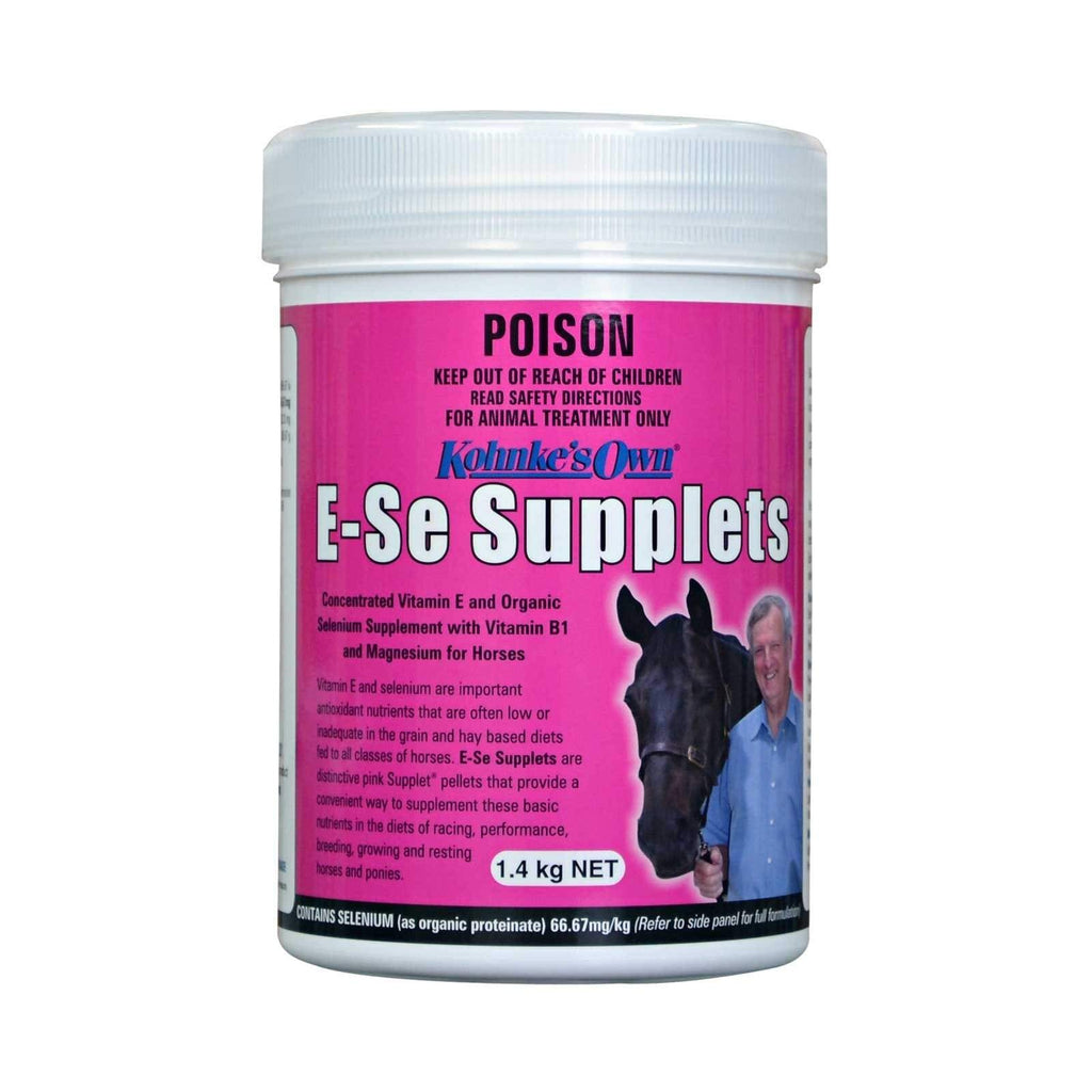 Gympie Saddleworld & Country Clothing Vitamins & Minerals 4kg Kohnke's Own E-SE Supplets