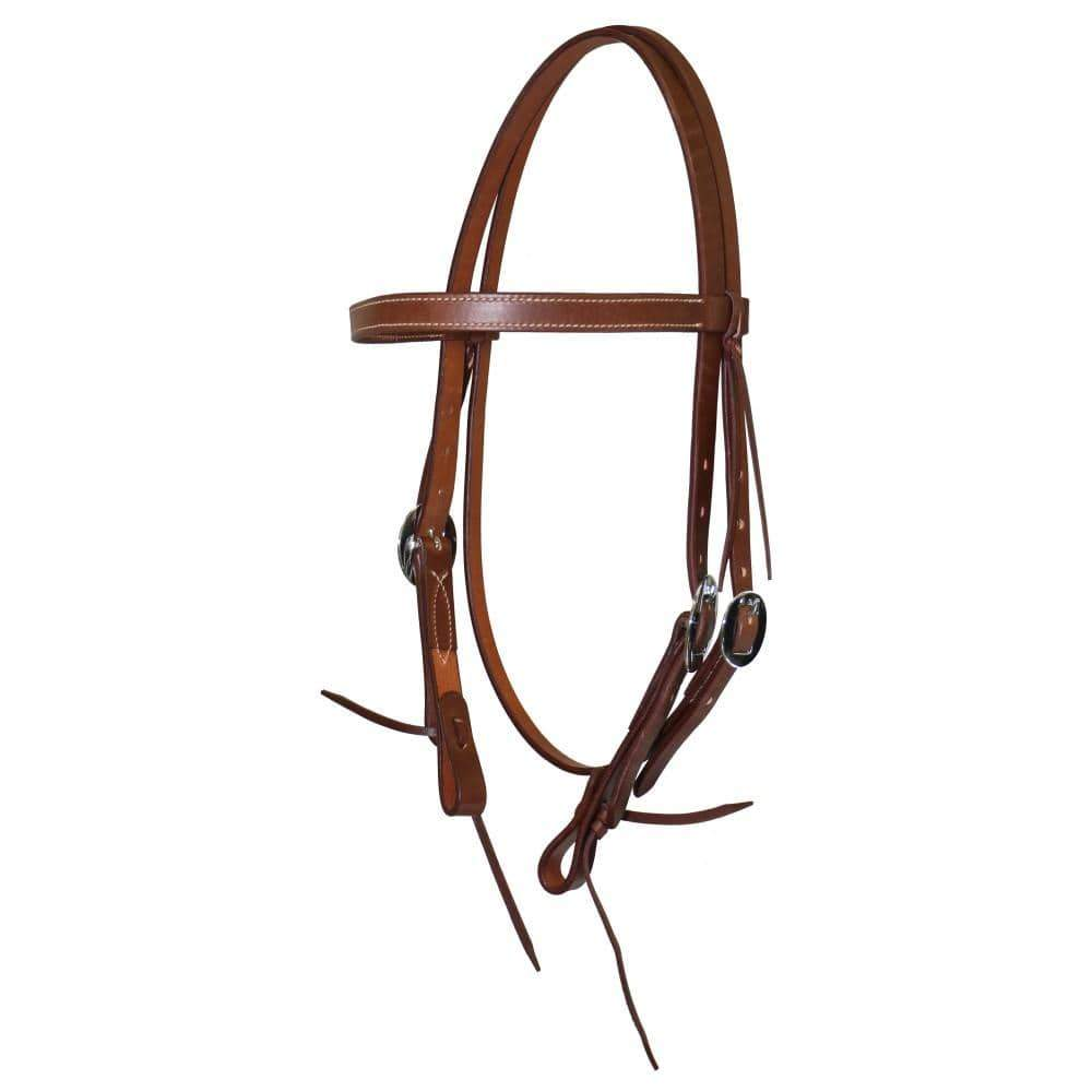 Fort Worth Latigo Headstall - Gympie Saddleworld & Country Clothing
