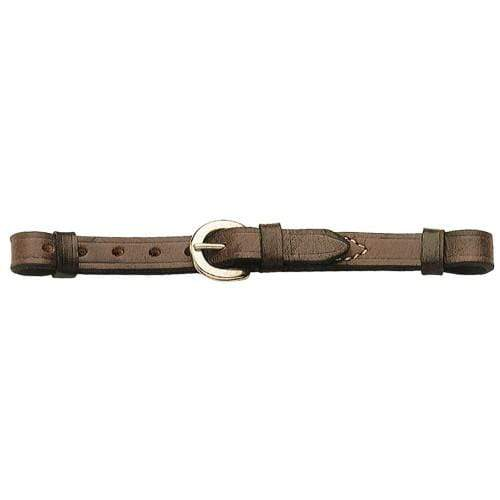 Gympie Saddleworld & Country Clothing Western Curb Chain Brown Western Curb Strap BIT8452