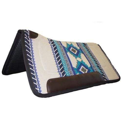 Fort Worth Contoured 32inx32in Saddlepad CLT7160 - Gympie Saddleworld & Country Clothing