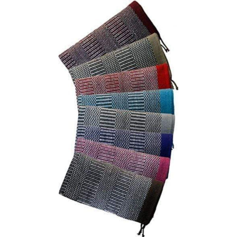 Western Navajo Saddle Blanket THS (Assorted Colours) - Gympie Saddleworld & Country Clothing