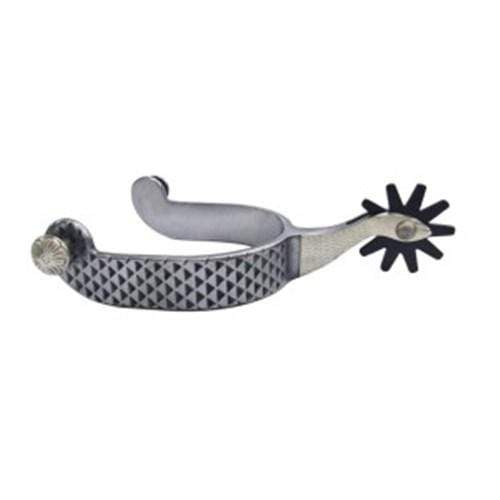Rasp Pattern Spurs - Gympie Saddleworld & Country Clothing