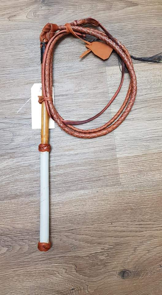 Handmade Stockwhip 4ft-4ft6 Assorted - Gympie Saddleworld & Country Clothing