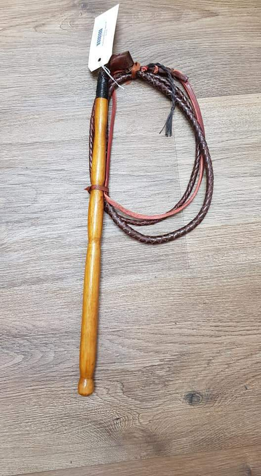 Handmade Stockwhip 4ft - Gympie Saddleworld & Country Clothing