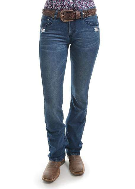 Pure Western Womens Amber Jeans - Gympie Saddleworld & Country Clothing