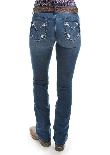 Gympie Saddleworld & Country Clothing Womens Jeans Pure Western Womens Amber Jeans