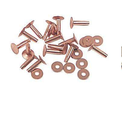 Gympie Saddleworld Stables / Tackroom 19mm TS Copper Rivets (RIVCOP2) Sold individually 19mm 3/4in