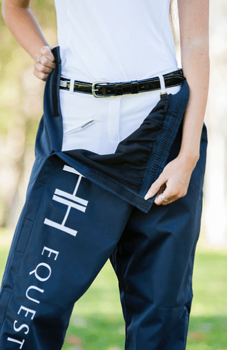 Hampton and Harlow Navy Over Pants - Gympie Saddleworld & Country Clothing