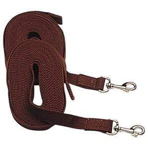 Horsemaster Web Driving Reins LNG4950 - Gympie Saddleworld & Country Clothing