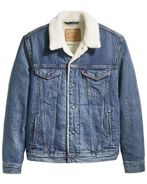 Levi Strauss Denim Jacket with Sherpa 16365-0089 - Gympie Saddleworld & Country Clothing