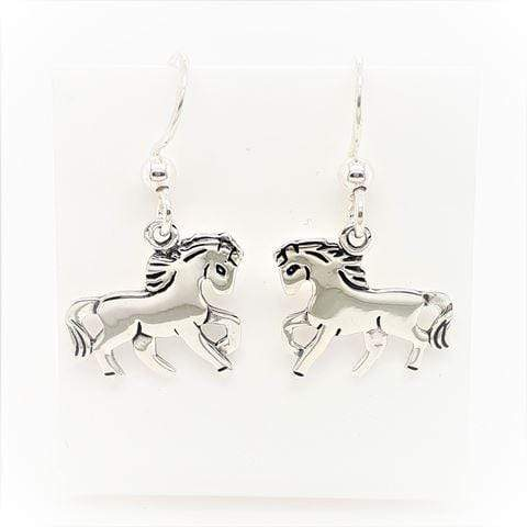 MCJ Horse Drops Earrings - Gympie Saddleworld & Country Clothing
