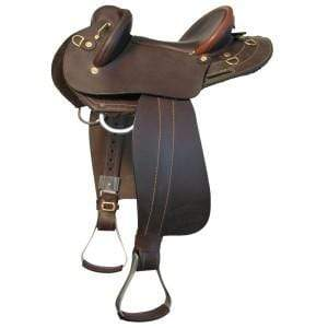 Ord River swinging fender saddles 14.5 / Brown Ord River Youth Swinging Fender Saddle