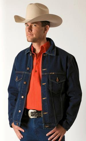 Outback Denim Jacket - Gympie Saddleworld & Country Clothing