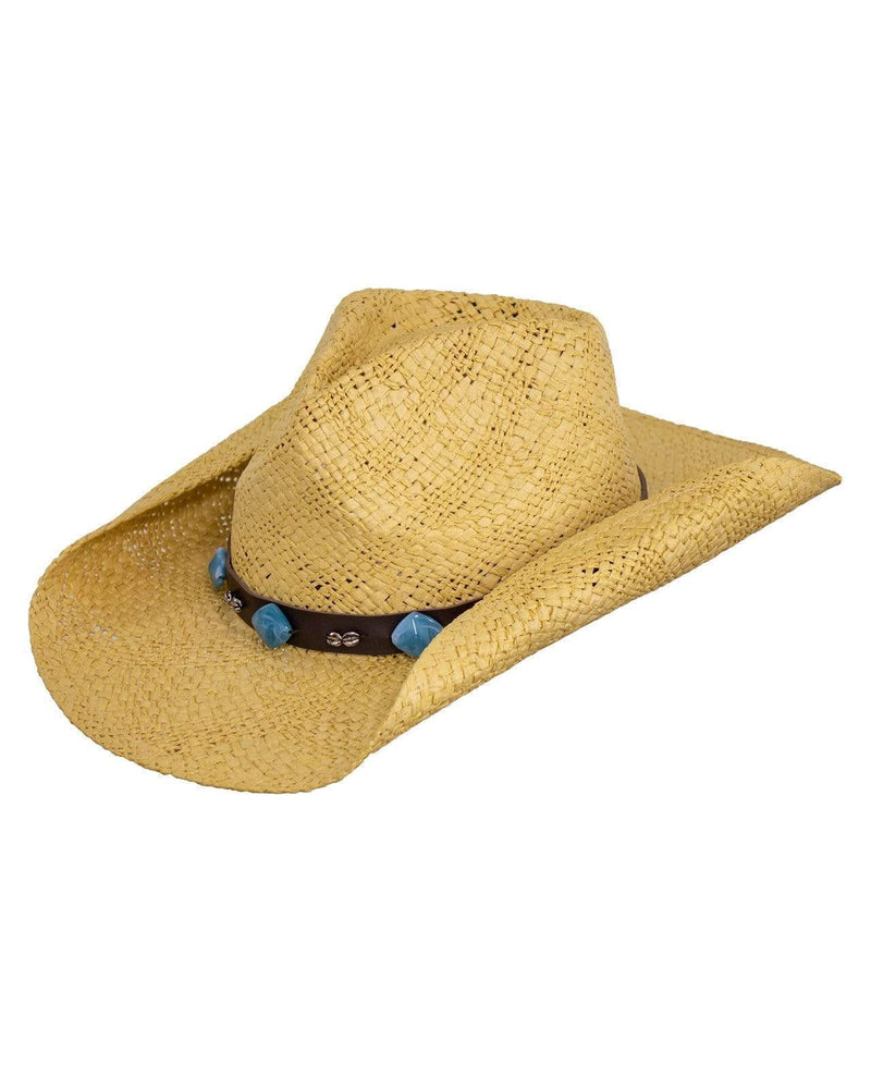 Southern Cross Natural Straw Hat - Gympie Saddleworld & Country Clothing