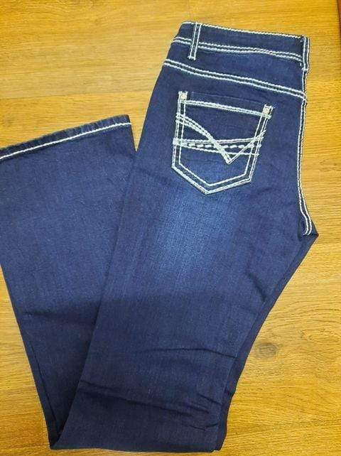 Womens Outback Mal Bling Jeans OBW201100-34 - Gympie Saddleworld & Country Clothing