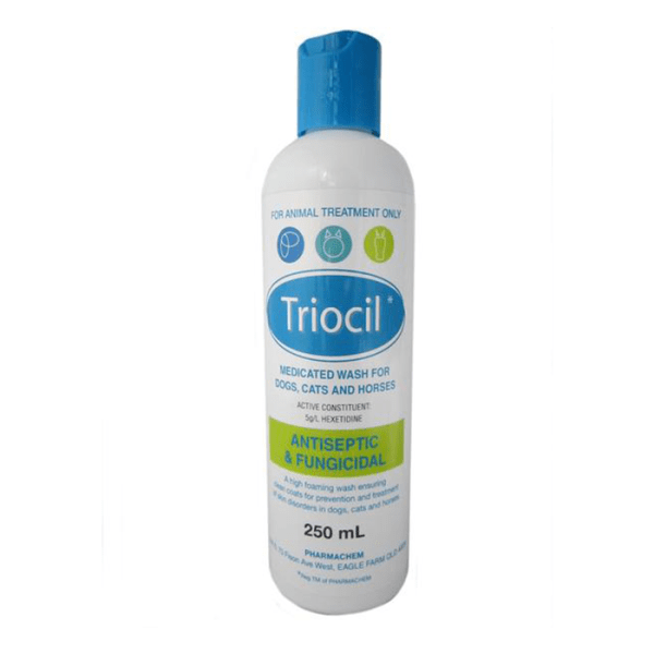 Triocil Medicated Shampoo PCTRI - Gympie Saddleworld & Country Clothing