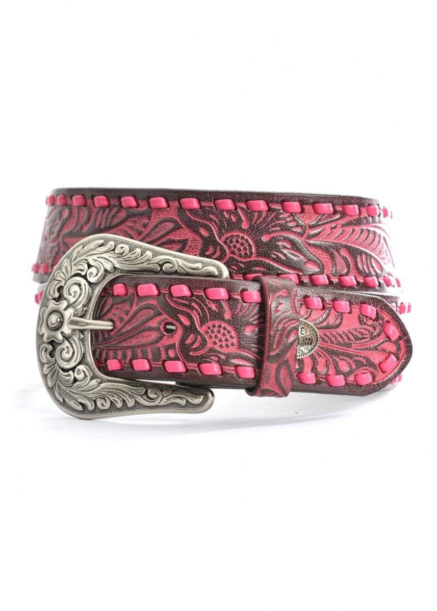 Pure Western Womens Paige Belt Dark Brown (P9S2913BLT) - Gympie Saddleworld & Country Clothing